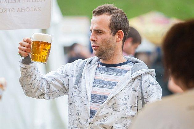 Slavnosti svijanského piva se konaly 15. července ve Svijanském Újezdu na Liberecku.