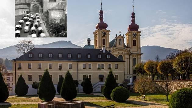 Hejnický klášter.