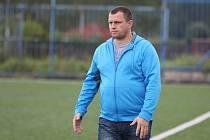 TRENÉR SLOVANU FRÝDLANT. Luboš Stýbal by měl dokoučovat svůj tým do krajského přeboru. Pomoci by mu v tom mohl i jeho syn Michal, který přichází z dorostu libereckého Slovanu.