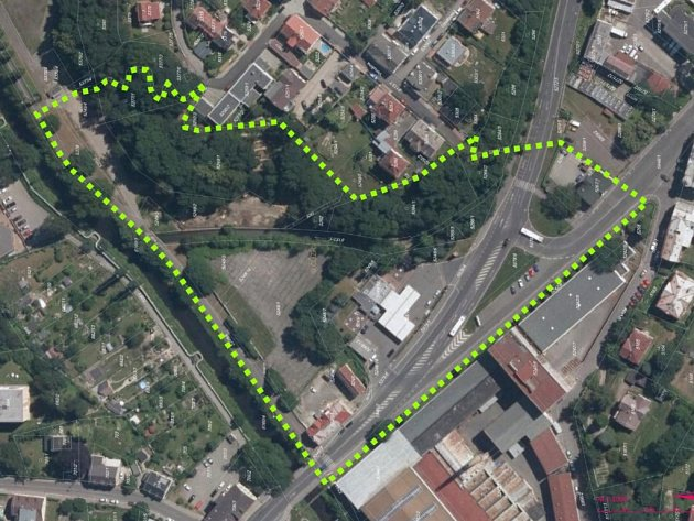 STRATEGICKÁ ZMĚNA územního plánu má řešit nejen EKOPark, ale i přilehlou cyklostezku, přístup ke Slovanu a parkování.