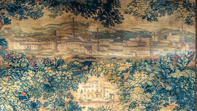 Unikátní koberec zobrazuje Vratislavice.