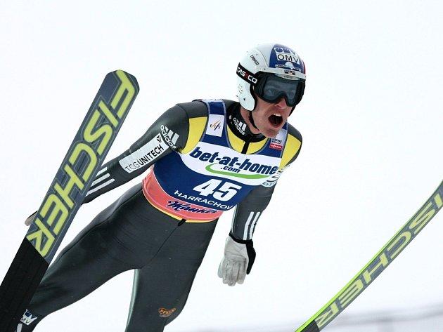 Český skokan na lyžích Jan Matura