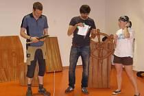 NECELÉ DVA MĚSÍCE stačily hercům na nacvičení Ostrova pokladů.