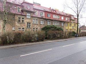 Historická a současná podob ulic v Liberci