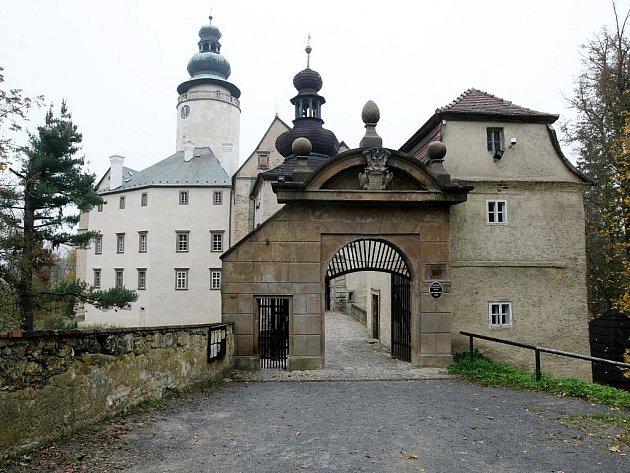Státní zámek Lemberk. Ilustrační foto.