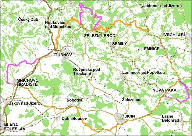 Význačné přírodní lokality geoparku jsou nyní obohaceny oúzemí na Novopacku vokolí potoka Zlatnice.