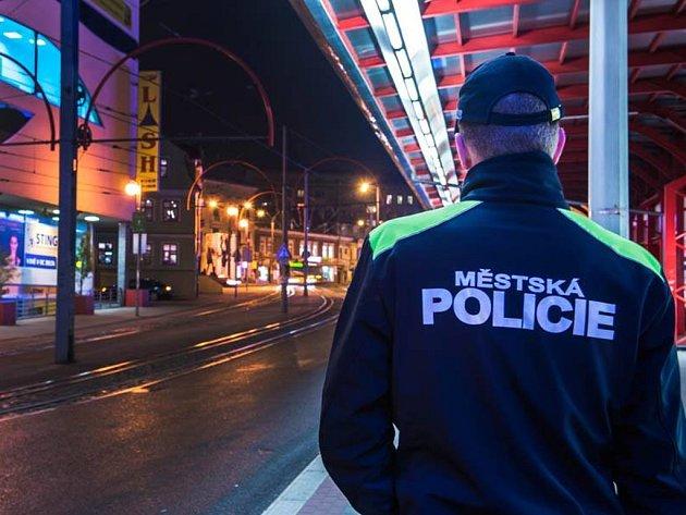 Městská policie v Liberci.