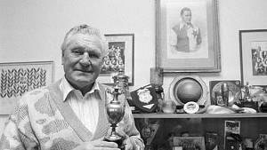 Legendární fotbalista Josef Bican