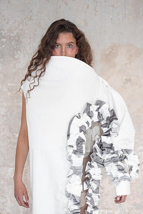 Návrh oděvu od Kateřiny Klozové