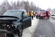 Dopravní nehoda u Jeřmanic