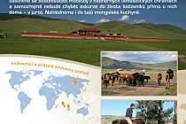 Mongolsko – přes hory k jurtám a kočovníkům