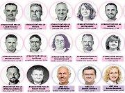 Prohlédněte si všech 39 členů, které jste při víkendových volbách zvolili na následující 4 roky.
