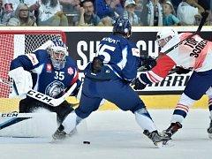 Liberečtí hokejisté podlehli doma Växjö 3:4 v prodloužení.