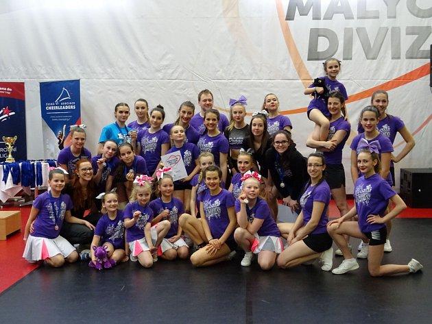 Velký úspěch pro liberecký cheerleading