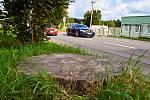 Vichřice polámala stromy i v Liberci na sídlišti Broumovská.