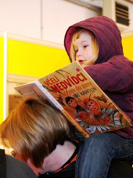 7. ročník Veletrhu dětské knihy v Liberci.