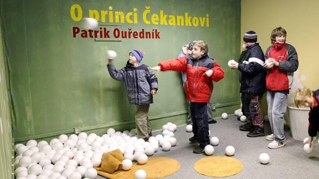 Tradičně nejzajímavější doprovodný program Veletrhu dětské knihy v Liberci nabízí návštěvníkům pavilon I.