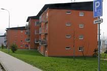 Byty v Zeleném Údolí.