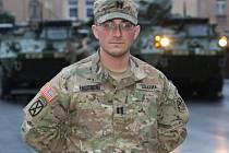 Děláme to, co někteří lidé chtěli, jedeme domů. Kapitán David Engoran slouží na evropské misi americké armády už čtvrtým rokem.
