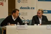 Tomáš Švagerka a Marek Pieter.