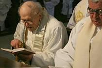 Kněz a farář Josef Matura na jednom z posledních snímků.