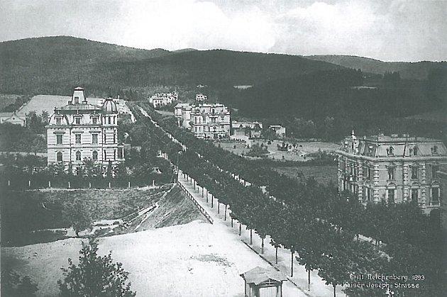 Masarykova ulice, 1893