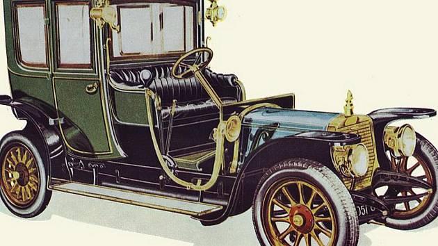 Panhard - Levassor 1912.