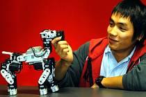 KYBER robot 2007. Patrik Tran z SOU v Lanškrouně.