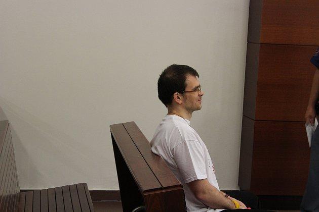 Lotyš Ansis Ataols Berziňš ukrajského soudu vLiberci, který potvrdil jeho vydání do vlasti.