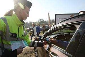 Na mnoha místech v ČR probíhala dopravně bezpečnostní akce Speed Marathon 2019, při níž se policisté zaměřili na kontrolu dodržování rychlosti vozidel.