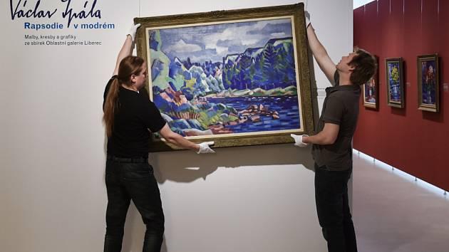 V liberecké galerii vystavují obrazy Václava Špály.