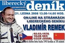 ON-LINE: Vladimír Remek