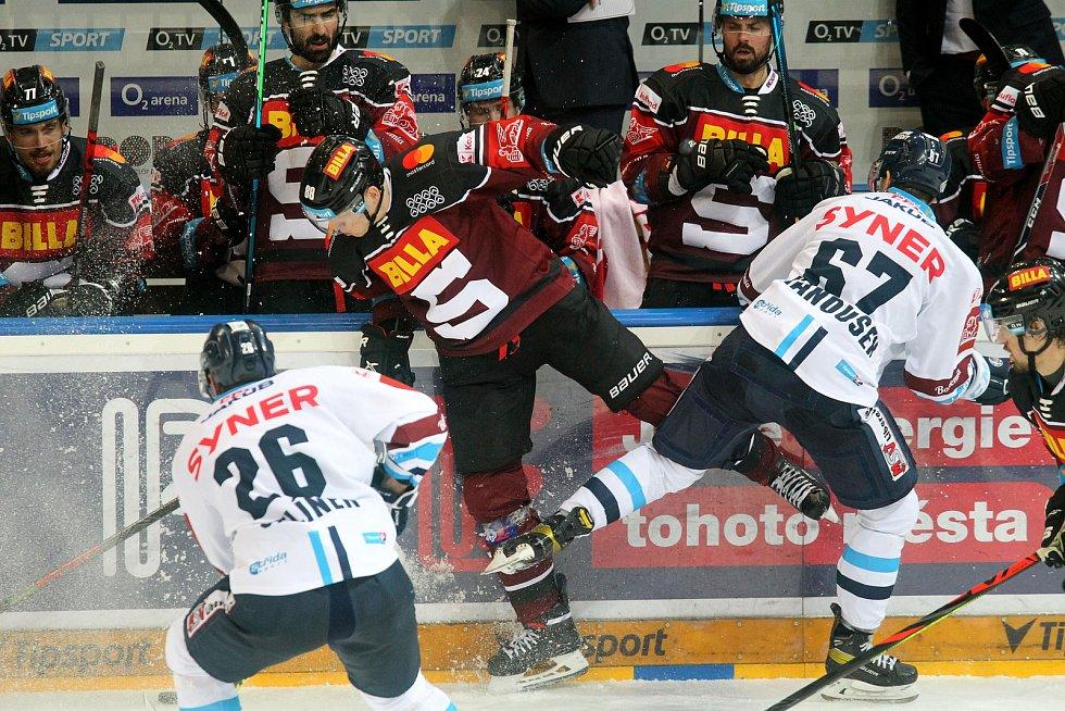 semifinále play off Tipsport extraligy HC Sparta - Bílí tygři Liberec 1:5.