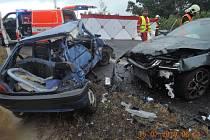 Ranní tragická nehoda na silnici I/13.