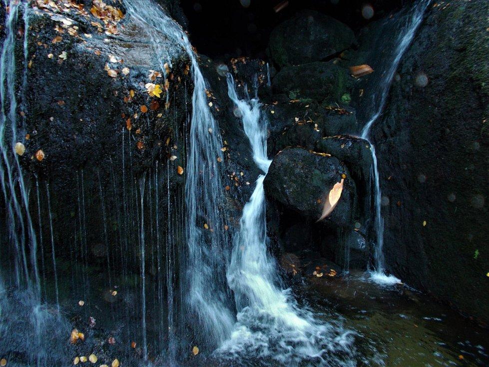 Černý vodopád