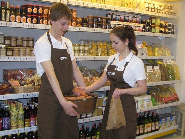 Nová prodejna vcentru Liberce nabízí kvalitní potraviny pouze české výroby.