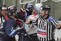 Liberec vyhrál v Chomutově 3:1 a je krok od postupu do semifinále