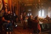 Natáčení na zámku Sychrov.