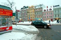 Sokolovské náměstí v Liberci.
