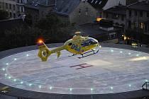 V sousedství heliportu má vyrůst nový pavilon Centra urgentní medicíny.