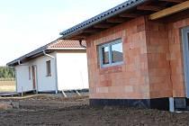Ilustrační snímek. Stavba nových domů