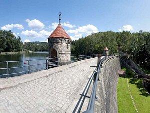 Liberecká přehrada. Ilustrační foto.