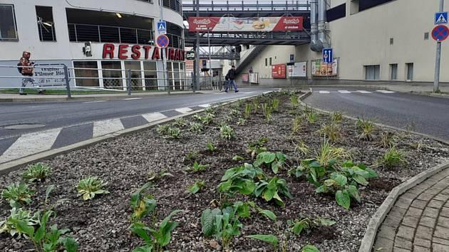 Tak jako na jaře, pokračuje město ve zkrášlování dalších koutů Liberce.