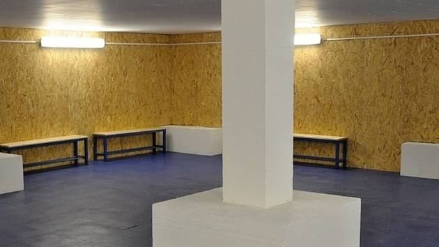 Ve Svijanské aréně je opravené zázemí pro bruslaře.