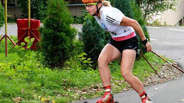 PROLOG šampionátu žen vyhrála u Tipsport areny Karolína Grohová (ročník 1990) z KRVR Krkonoše Vrchlabí v čase 2:40.91.