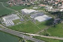 Průmyslová zóna. Ilustrační snímek