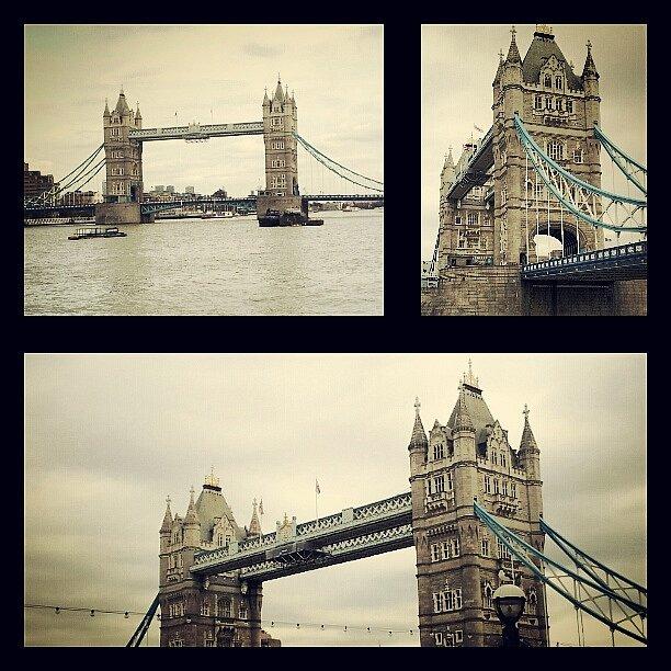 Tower Bridge, Londýn.