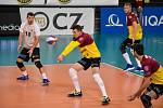 Volejbalisté Dukly porazili Brno hladce 3:0.