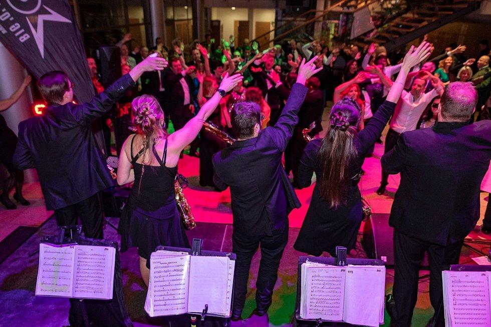 Hejtmanský ples proběhl v Krajské vědecké knihovně v Liberci.