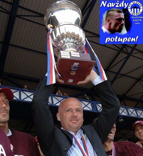 Trenér Sparty Michal Bílek.